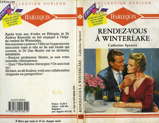 RENDEZ-VOUS A WINTERLAKE - THE LOVING TOUCH