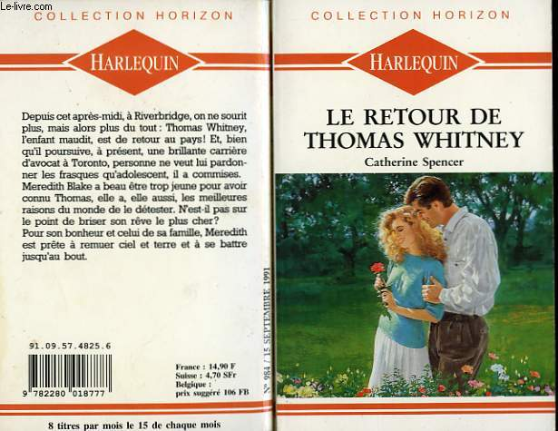 LE RETOUR DE THOMAS WHITNEY - WINTER ROSES