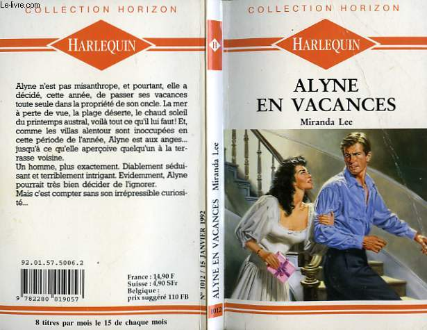ALYNE EN VACANCES - THE RELUCTANT LOVER