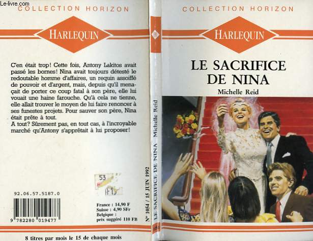 LE SACRIFICE DE NINA - NO WAY TO BEGIN
