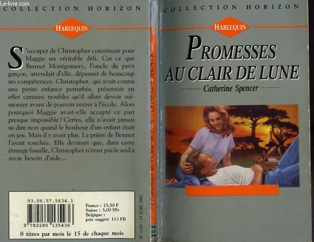 PROMESSES AU CLAIR DE LUNE - DEAR MISS JONES