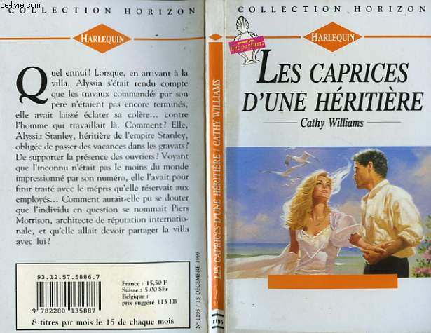 LES CAPRICES D'UNE HERITIERE - A FRENCH ENCOUNTER