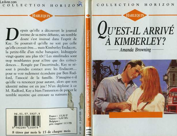 QU'EST IL ARRIVE A KIMBERLEY ? - TRAIL TO LOVE