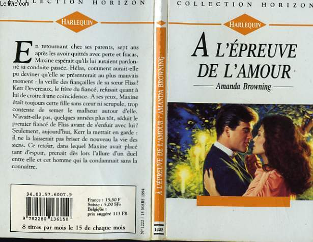 A L'EPREUVE DE L'AMOUR - AN OLD ENCHANTMENT