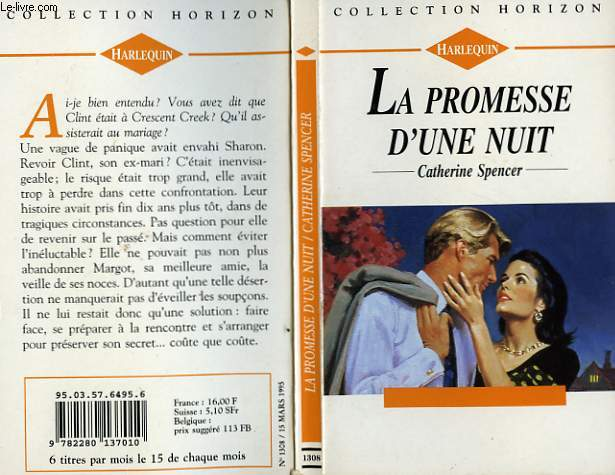 LA PROMESSE D'UNE NUIT - LOVE'S STING