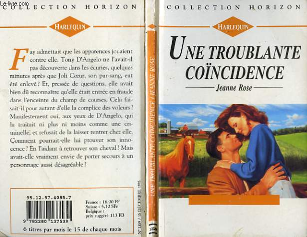 UNE TROUBLANTE COINCIDENCE - LOVE ON THE TURN