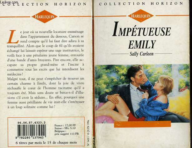 IMPETUEUSE EMILY - AN IMPROBABLE WIFE