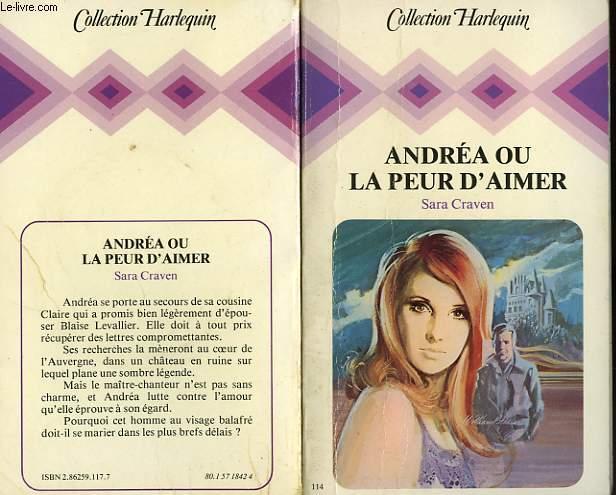 ANDREA OU LA PEUR D'AIMER - A PLACE OF STORMS