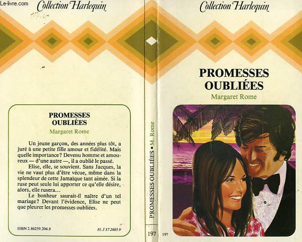 PROMESSES OUBLIEES - COVE OF PROMISES