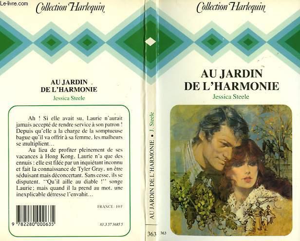 AU JARDIN DE L'HARMONIE - BUT KNOW NOT WHY
