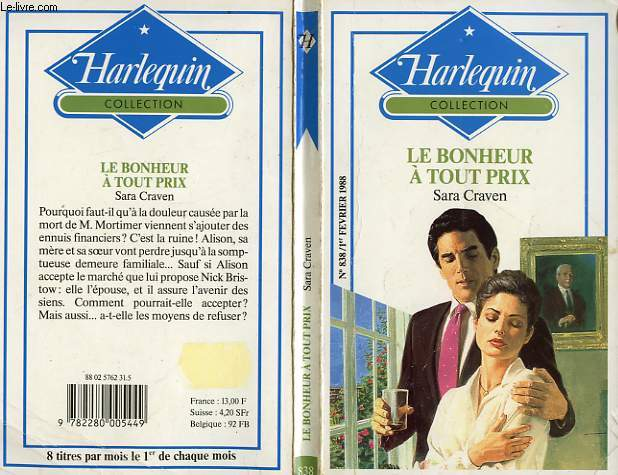 LE BONHEUR A TOUT PRIX - A HIGH PRICE TO PAY