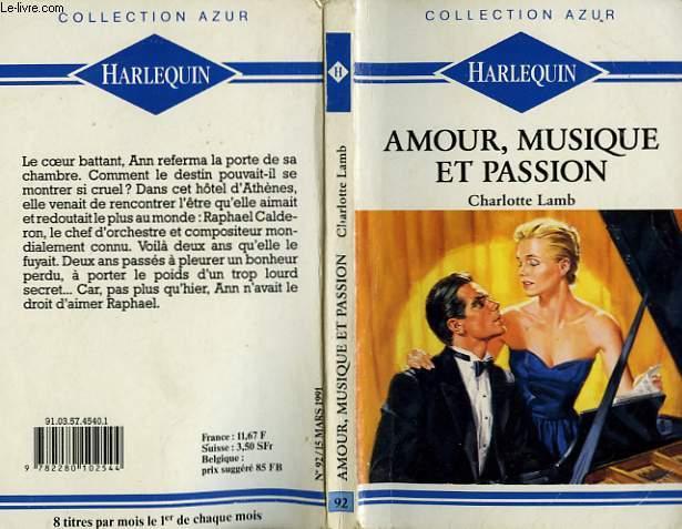 AMOUR, MUSIQUE ET PASSION - DARK MUSIC