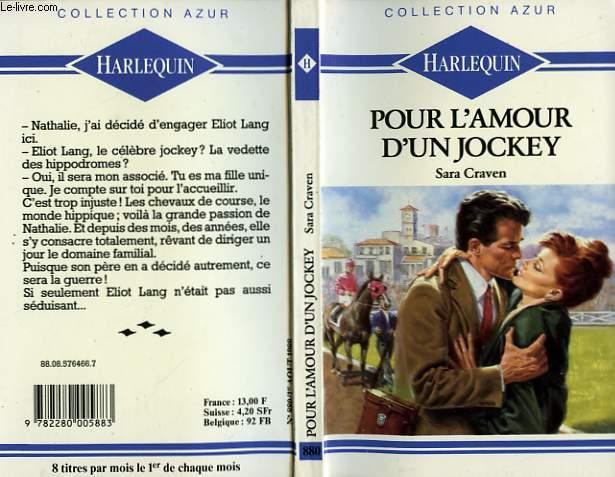 POUR L'AMOUR D'UN JOCKEY - OUTSIDER