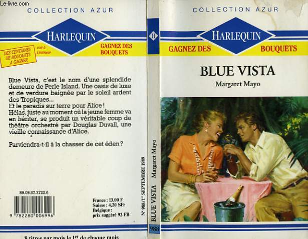 BLUE VISTA - UNEXPECTED INHERITANCE