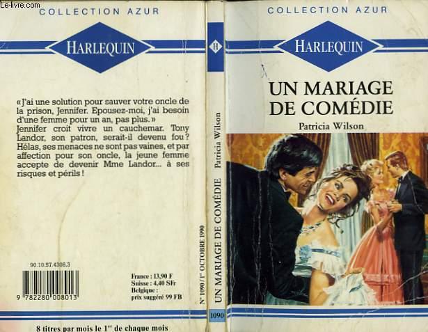 UN MARIAGE DE COMEDIE - TEMPORARY BRIDE