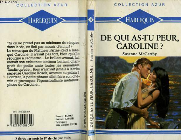 DE QUI AS TU PEUR CAROLINE ? - TRIAL BY LOVE