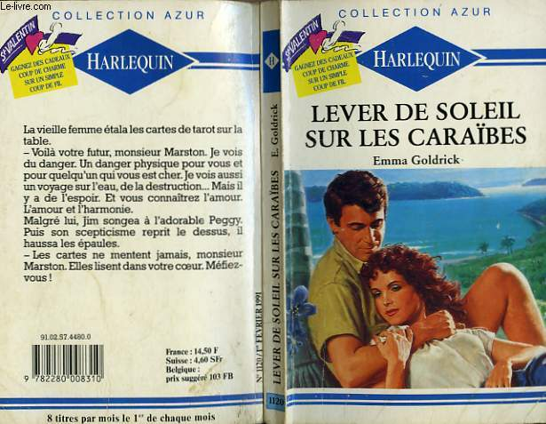 LEVER DE SOLEIL SUR LES CARAIBES - LOVE IS IN THE CARDS