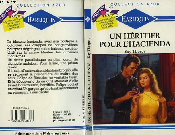 UN HERITIER POUR L'HACIENDA - STEEL TIGER