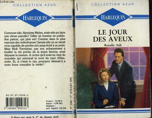 LE JOUR DES AVEUX - PRIVATE PROPERTY