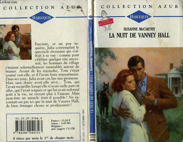 LA NUIT DE VANNEY HALL - SECOND CHANCE FOR LOVE