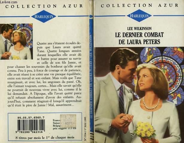 LE DERNIER COMBAT DE LAURA PETERS - MY ONLY LOVE