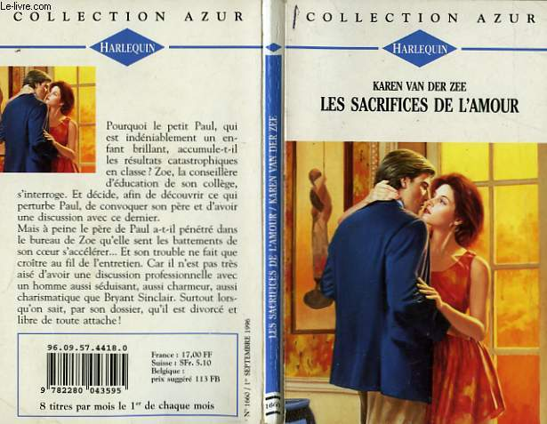 LES SACRIFICES DE L'AMOUR - FIRE AND SPICE
