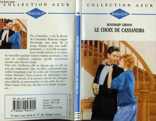 LE CHOIX DE CASSANDRA - NO TIES