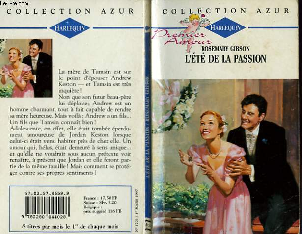 L'ETE DE LA PASSION - THE BRIDE'S DAUGHTER