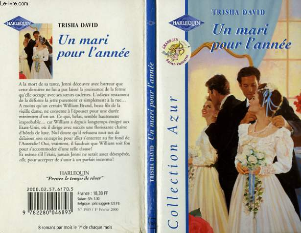 UN MARI POUR L'ANNEE - MARRYING WILLIAM