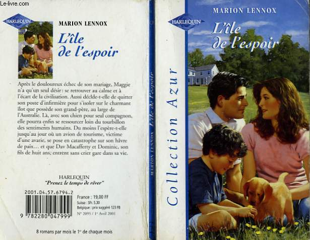 L'ILE DE L'ESPOIR - MARRIAGE FOR MAGGIE