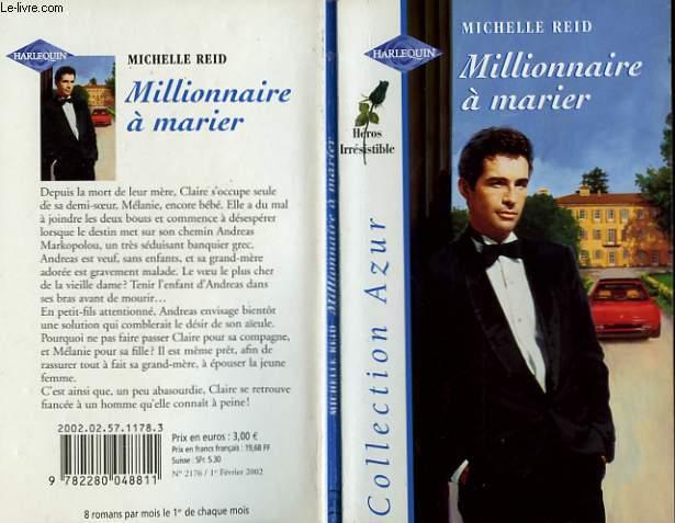 MILLIONNAIRE A MARIER - THE TYCOON'S BRIDE