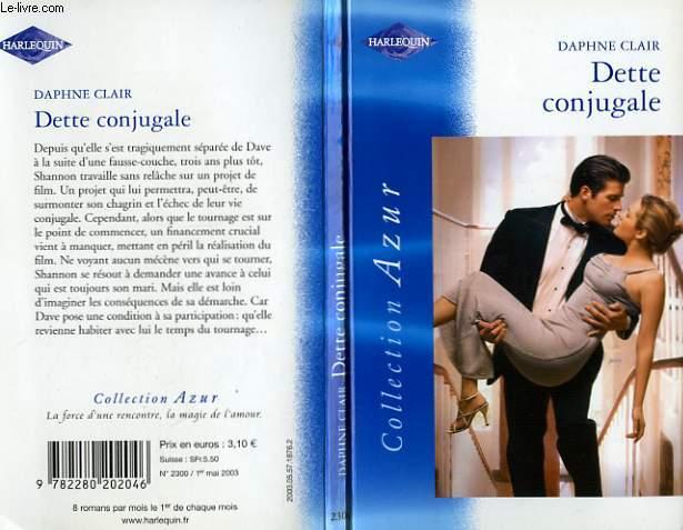 DETTE CONJUGALE - THE MARRIAGE DEBT