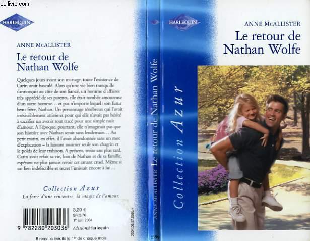 LE RETOUR DE NATHAN WOLFE - NATHAN'S CHILD