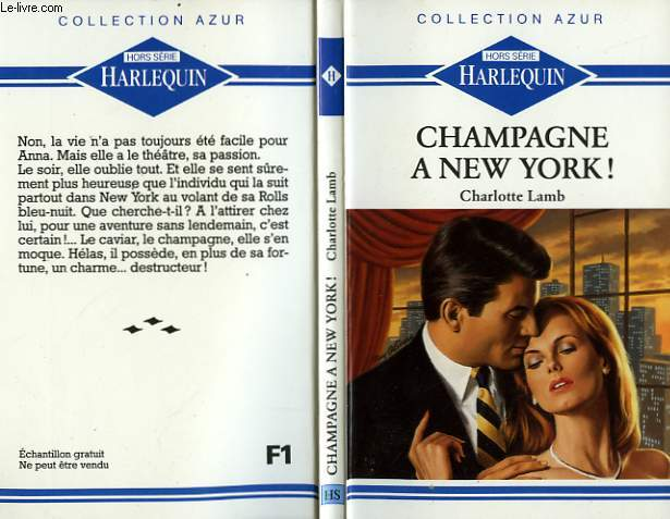 CHAMPAGNE A NEW YORK - WHIRLWIND