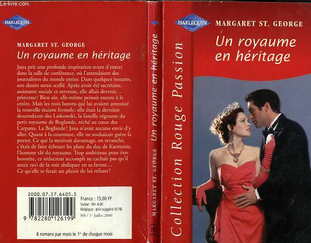 UN ROYAUME EN HERITAGE - THE ACCIDENTAL PRINCESS