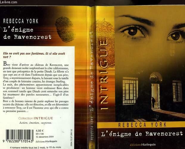 L'ENIGME DE RAVENCREST - PHANTOM LOVER