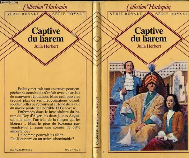 CAPTIVE DU HAREM - PRISONER OF THE HAREM