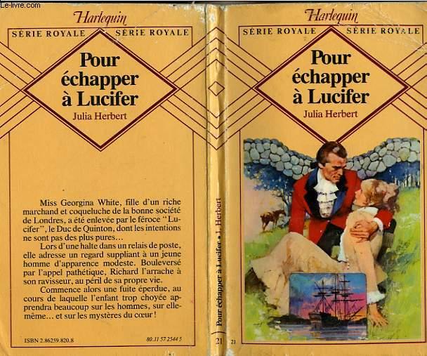 POUR ECHAPPER A LUCIFER - THE RUNAWAY