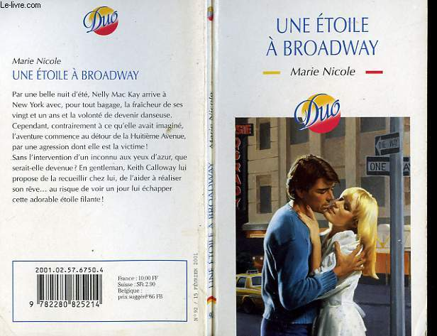 UNE ETOILE A BROADWAY - CHOCOLATE DREAMS