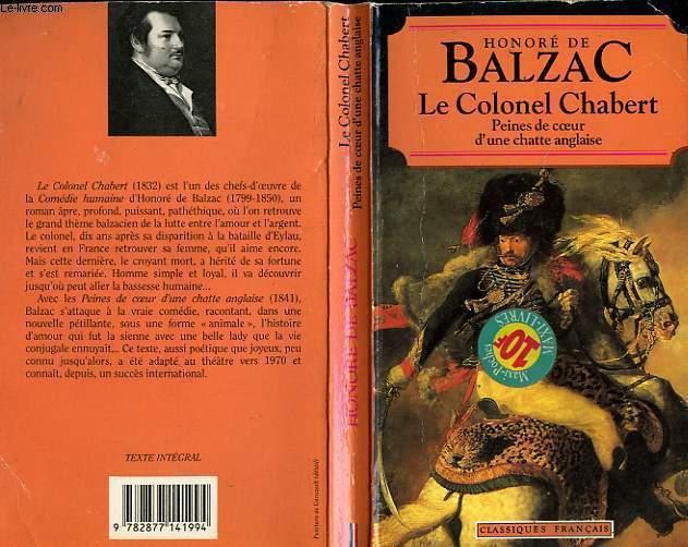 LE COLONEL CHABERT PEINE DE COEUR D'UNE CHATTE ANGLAISE