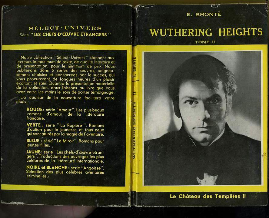 WUTHERING HEIGHTS - LE CHATEAU DES TEMPETES - TOME 2