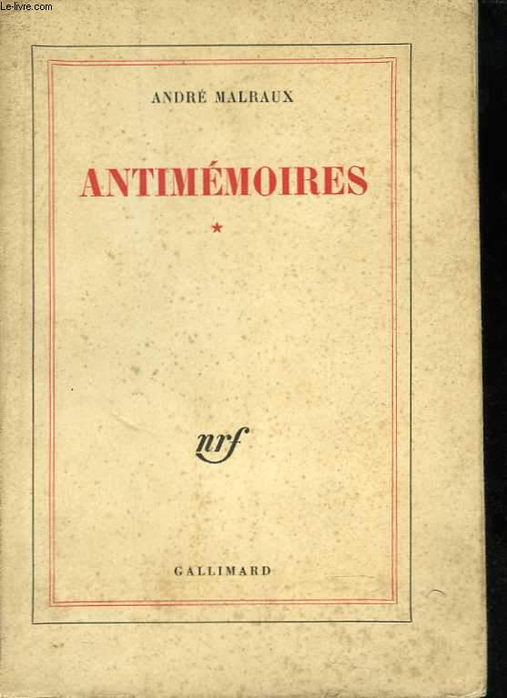 Antimémoires. 1