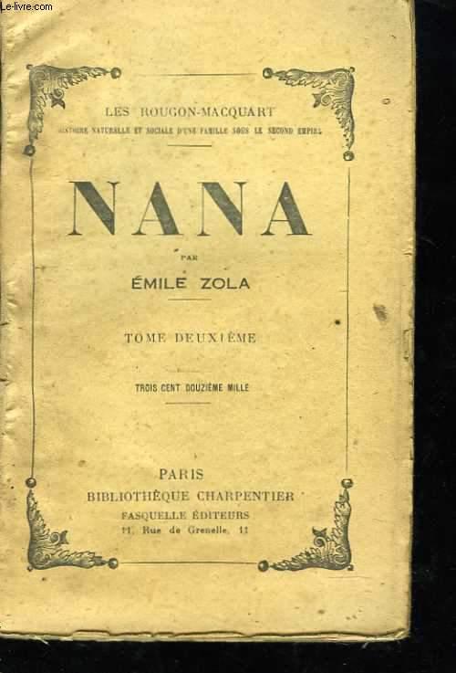 Nana. Tome 2