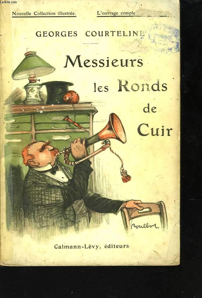 Messieurs les Ronds de Cuir. Illustrations de Poulbot
