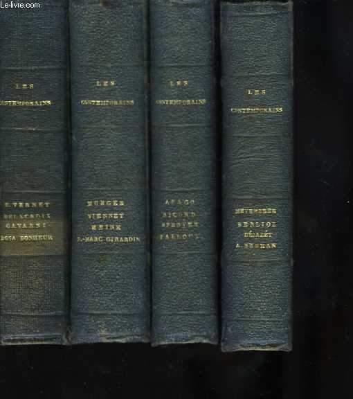 Les Contemporains. 4 tomes