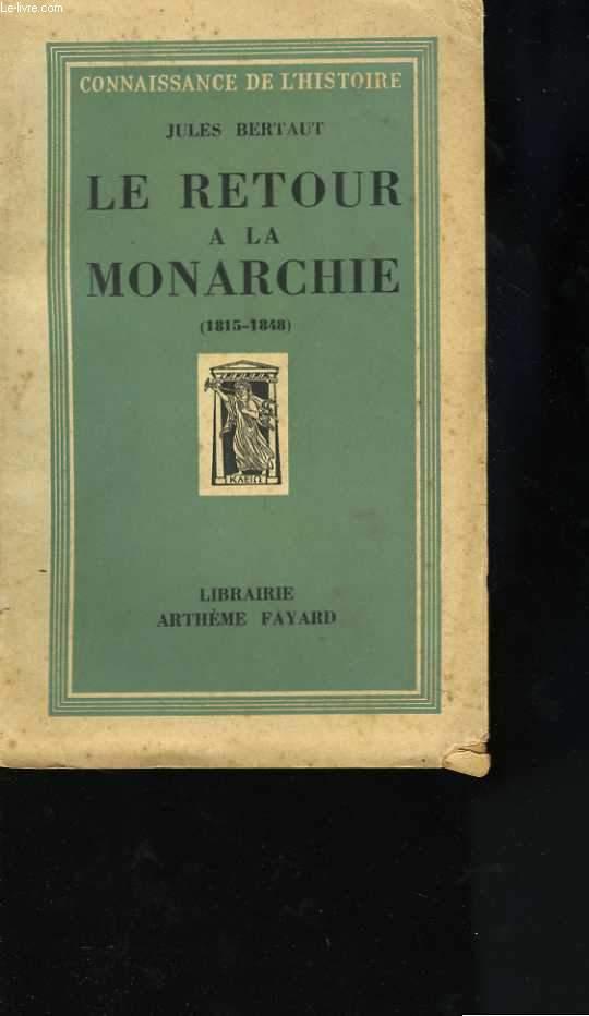 Le retour à la Monarchie (1815-1848)