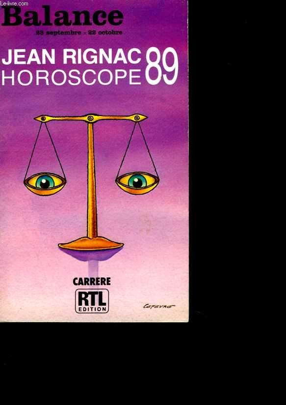 Horoscope 89 - Balance