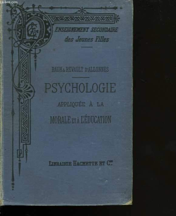 Psychologie appliquée à la morale et à l'éducation