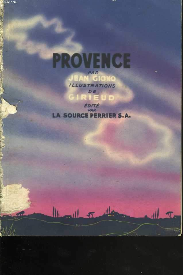 Provence. Illustrations de Girieud