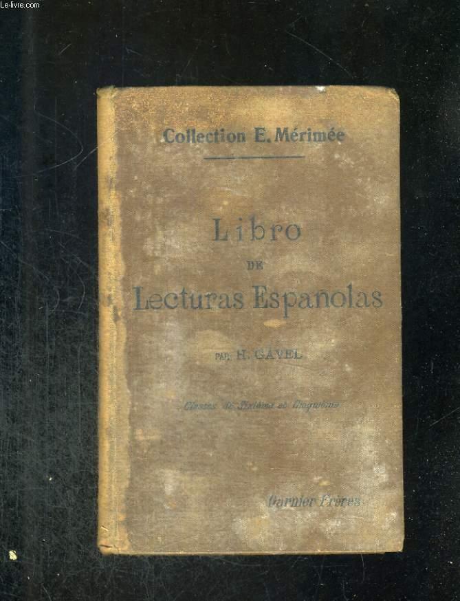 Librode Lecturas Espagnolas. Classes de sixième